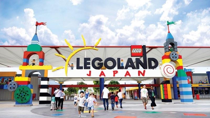 Первый открытый японский парк Леголенд открылся в Нагоя