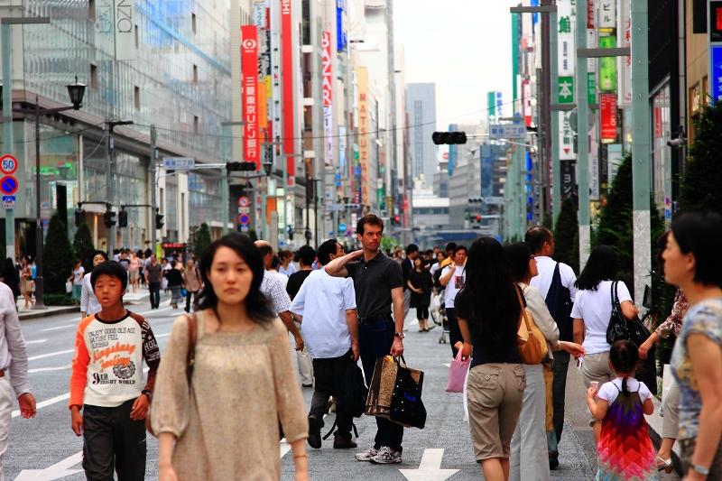 Поддержка иностранцев во время землетрясений в Японии