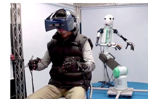 Используя сенсорные технологии, роботы станут нашими «представителями»