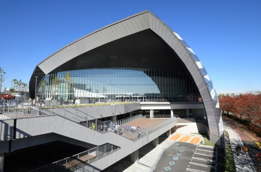 В Токио открыли первое спортивное сооружение для Олимпиады-2020