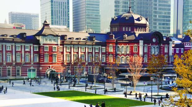 Открыта новая площадь у здания Токийского вокзала