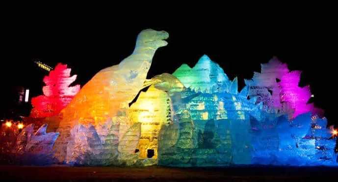В Саппоро открылся ежегодный Снежный фестиваль