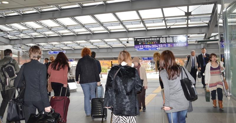 Посещаемость японских отелей иностранными туристами выросла до рекордного уровня
