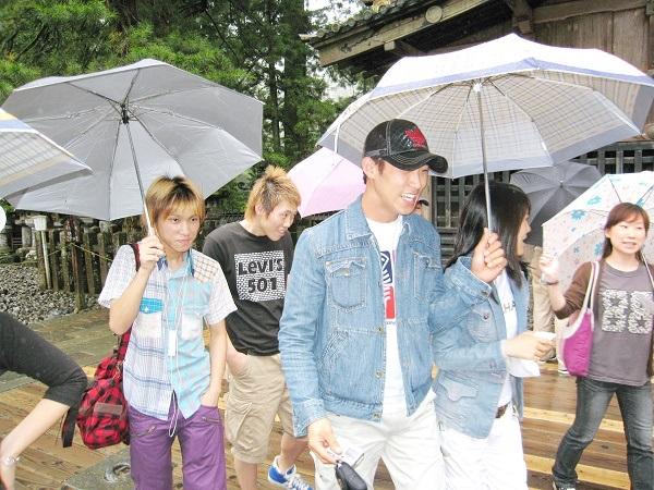 В Японию пришел сезон дождей