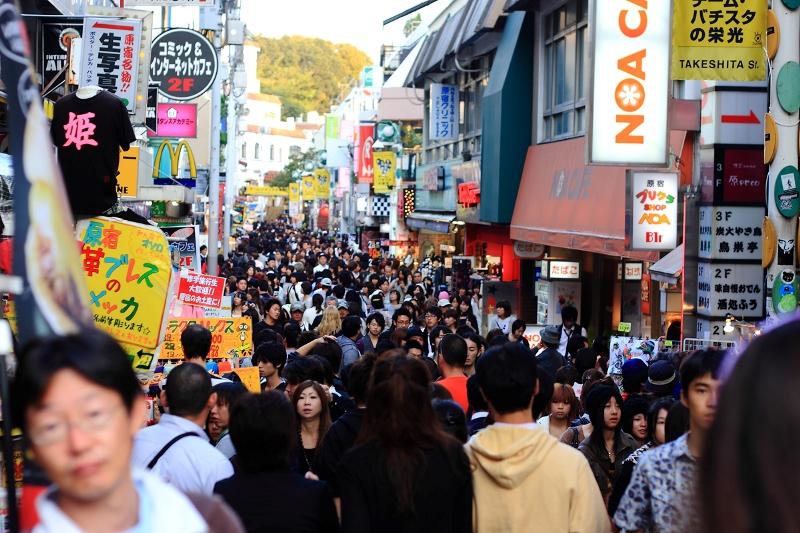 Снижение численности населения Японии набирает обороты