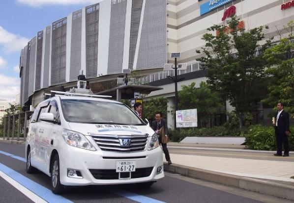 Старт тестирования беспилотного такси в Токио в августе