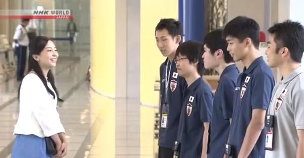 В Ибараки открылась международная олимпиада по программированию