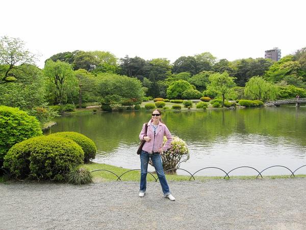 Токийский национальный парк Синдзюку Гёэн начинает продажу билетов онлайн