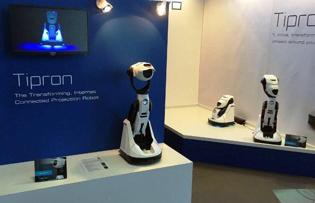 Домашний робот-проектор Типрон